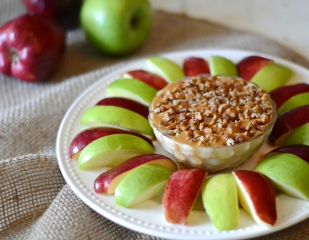 Caramel Apple Dip makes a great, Fall-feeling appetizer for any party. Photo by Aimee Broussard.