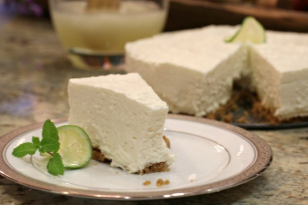 Icebox Lime Cheesecake