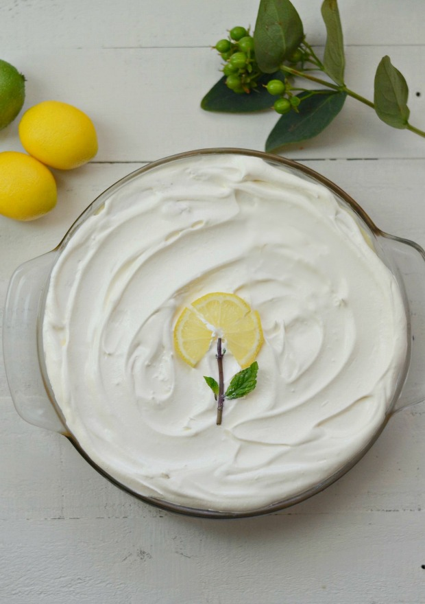 Lemon Cream Pie, River Road Recipes Blog