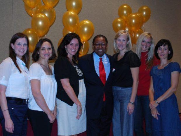 Junior League members with special guest speaker, former Baton Rouge Mayor Kip Holden.